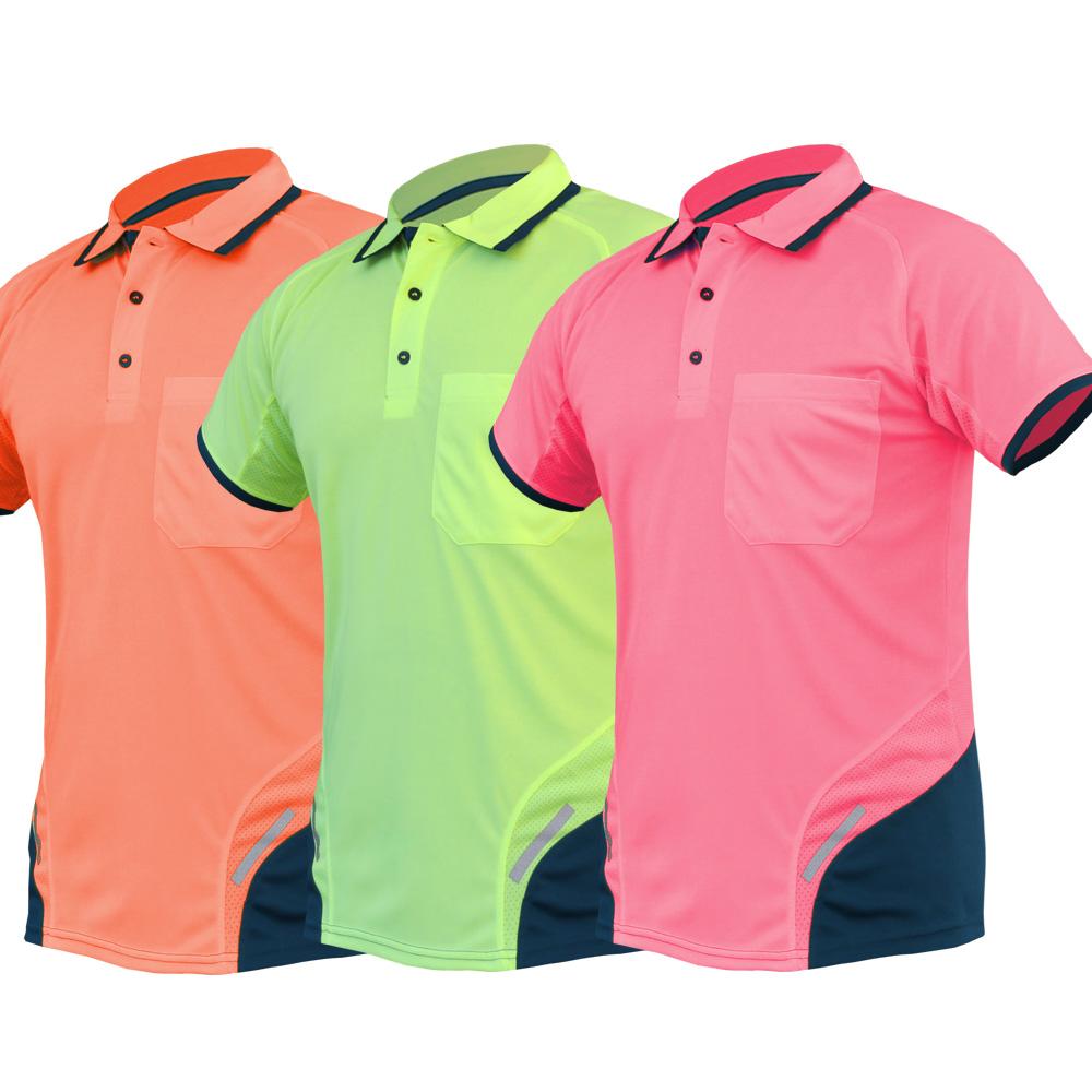 Hi Vis Polo Shirt Slim Fit Ss Big Bee Goodgearnation
